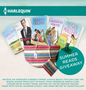GIVEAWAY: Harlequin Summer Reads