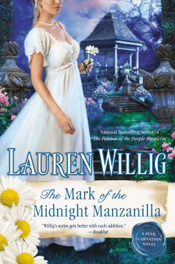 REVIEW:  The Mark of the Midnight Manzanilla by Lauren Willig