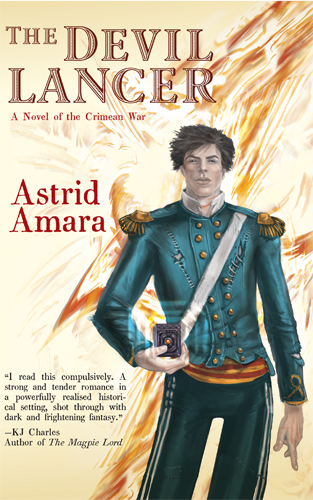 JOINT REVIEW:  The Devil Lancer by Astrid Amara