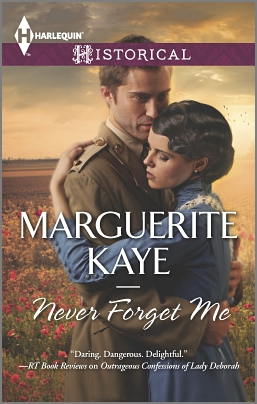 REVIEW:  Never Forget Me by Marguerite Kaye