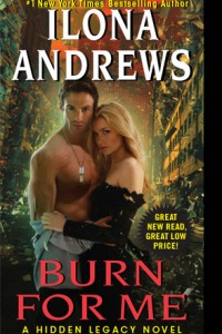 REVIEW:  Burn for Me by Ilona Andrews