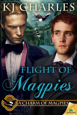 JOINT REVIEW:  Flight of Magpies (A Charm of Magpies, book 3) by K.J. Charles
