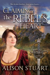 REVIEW:  Claiming the Rebel's Heart by Alison Stuart