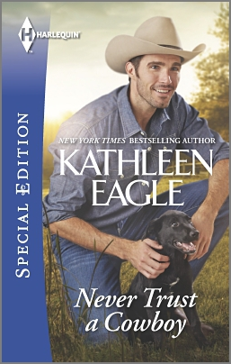 REVIEW:  Never Trust a Cowboy by Kathleen Eagle