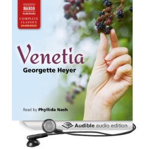 A Newbie's Experience of Venetia by Georgette Heyer, narrated by Phyllida Nash