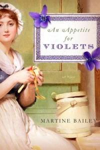 REVIEW:  An Appetite for Violets by Martine Bailey
