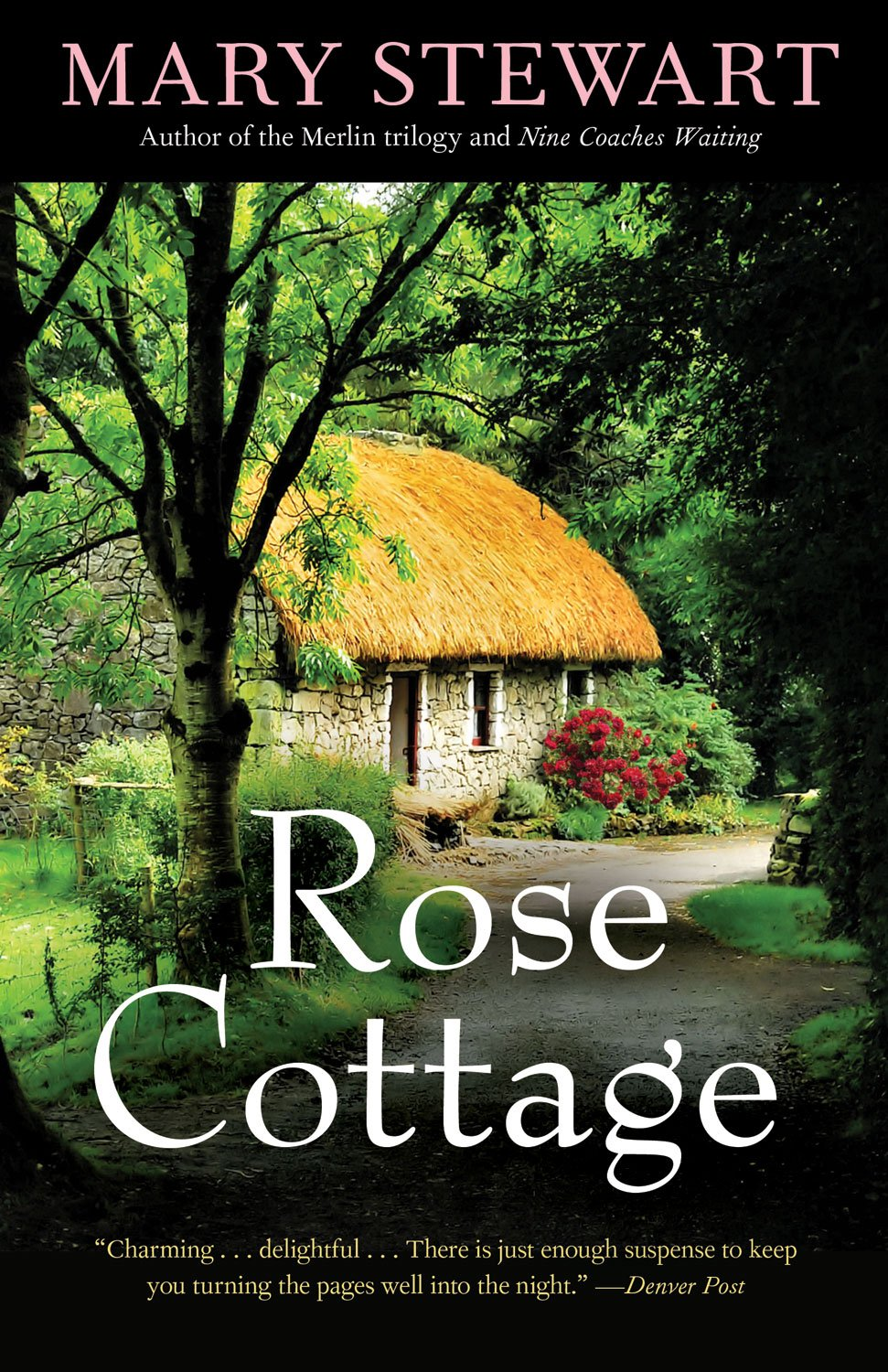 REVIEW:  Rose Cottage by Mary Stewart