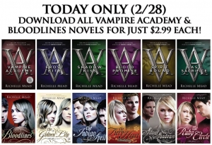 Daily Deals: Richelle Mead on sale