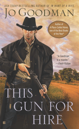 REVIEW:  This Gun for Hire by Jo Goodman