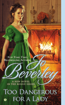 REVIEW:  Too Dangerous for a Lady by Jo Beverley