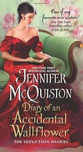 REVIEW:  Diary of an Accidental Wallflower by Jennifer McQuiston