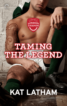REVIEW:  Taming the Legend by Kat Latham