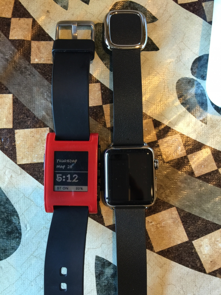 Pebble vs. Watch
