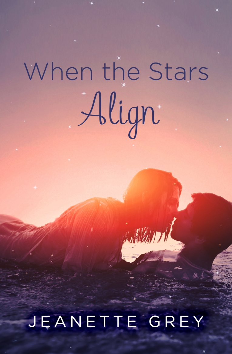 COVER REVEAL and GIVEAWAY: When the Stars Align by Jeanette Grey
