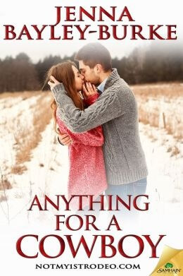 REVIEW:  Anything for a Cowboy by Jenna Bayley-Burke