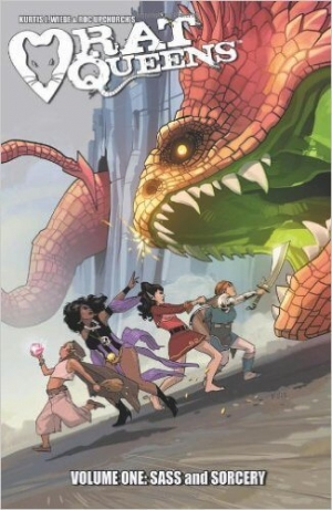 REVIEW:  Rat Queens (Volume One – Sass and Sorcery) by Kurtis J. Wiebe