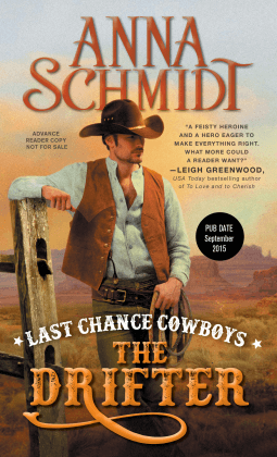 REVIEW:  Last Chance Cowboys: The Drifter by Anna Schmidt