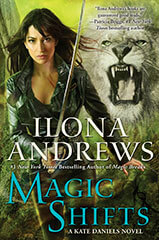 REVIEW:  Magic Shifts (Kate Daniels #8) by Ilona Andrews