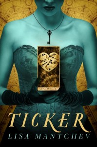 REVIEW:  Ticker by Lisa Mantchev