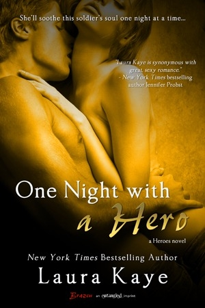 One Night with a Hero (The Hero #2) by Laura Kaye