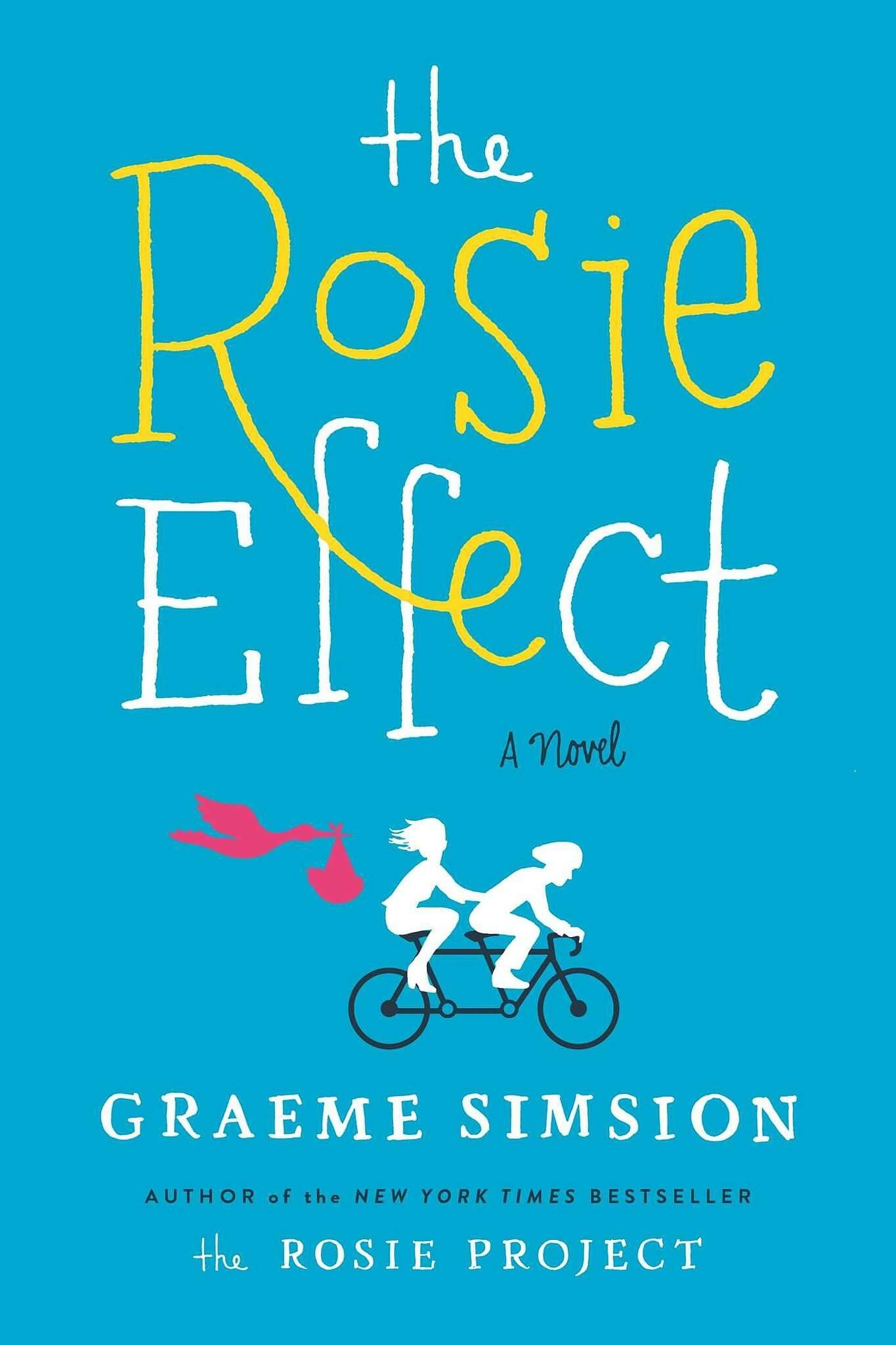 REVIEW:  The Rosie Effect by Graeme Simsion