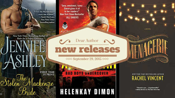 New Releases, Week of September 29, 2015