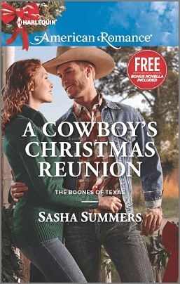 REVIEW:  A Cowboy's Christmas Reunion by Sasha Summers