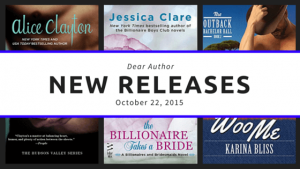 New Release, Week of October 22, 2015