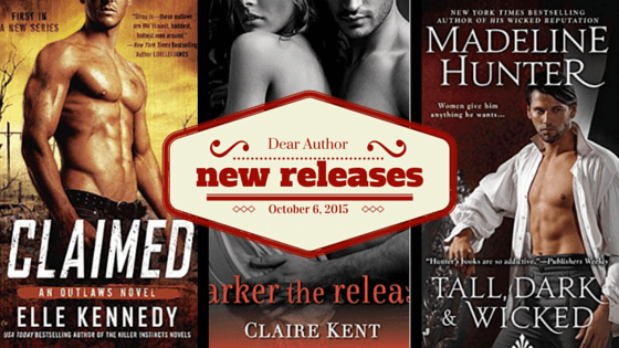 New Releases, Week of October 6, 2015