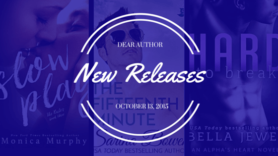 New Releases, Week of October 13, 2015