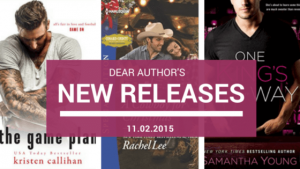 New Releases, Week of November 2, 2015