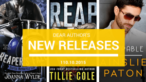 New Releases, Week of November 10, 2015