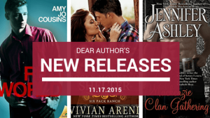 New Releases, Week of November 17, 2015